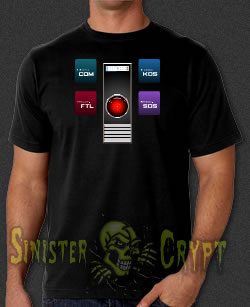 HAL 9000 t-shirt 2001 Space Odyssey