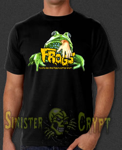 Frogs horror movie t-shirt